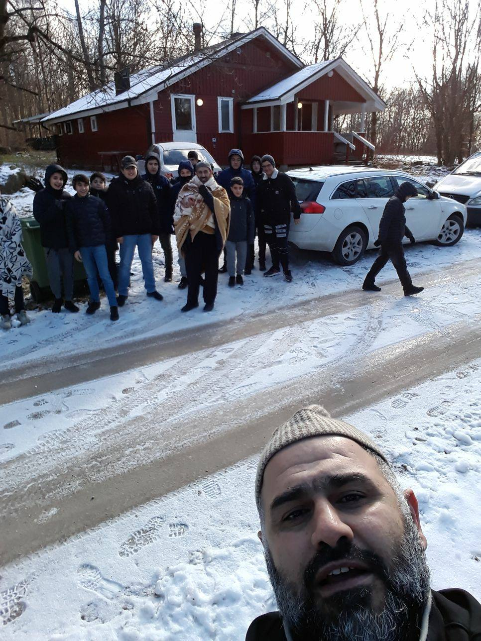 Vandretur i Jularp, Sverige